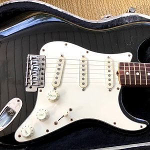 Smith Strat With All Original Knobs